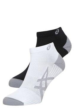 ASICS - 2 PACK - Varrettomat sukat - real white