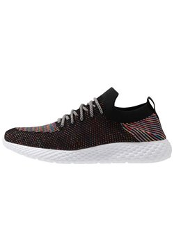 Cotton On - HATCHER TRAINER - Sneaker low - black/rainbow/white