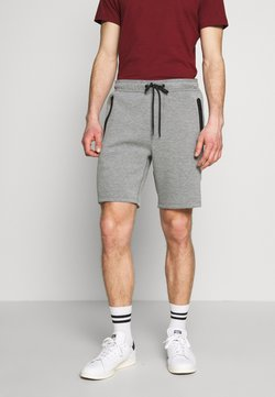 American Eagle - PULL ON WITH BONDED TAPE POCKETS - Jogginghose - heather gray