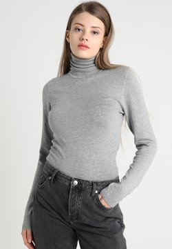 ICHI - MAFA - Strickpullover - grey melange