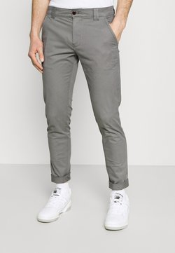 Tommy Jeans - SCANTON PANT - Chinot - grey