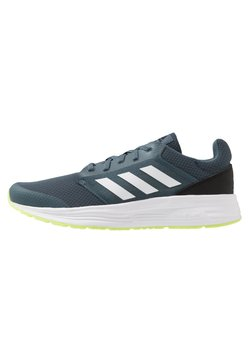 adidas Performance - GALAXY CLASSIC CLOUDFOAM SPORTS RUNNING SHOES - Zapatillas de running neutras - legend blue/footwear white/signal green