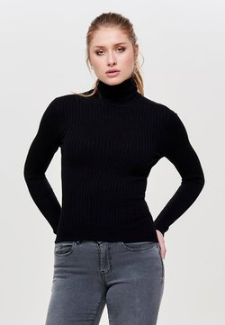 ONLY - ONLKAROL - Strickpullover - black