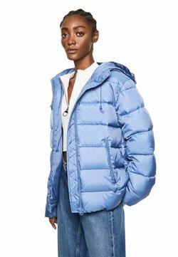 Pepe Jeans - DUA LIPA X PEPE JEANS - Winterjacke - fade blau