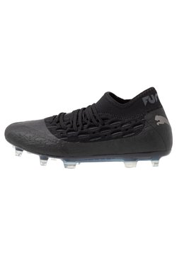 Puma - FUTURE 5.2 NETFIT FG/AG - Moulded stud football boots - black/asphalt