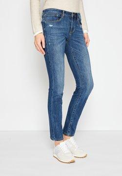 TOM TAILOR - ALEXA - Jeans Slim Fit - used mid stone blue denim