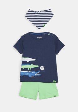 Staccato - BIB SET - Shorts - dark blue/green