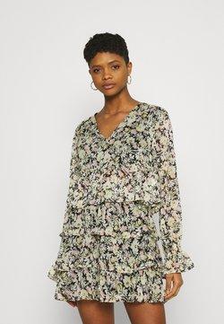 Gina Tricot - EXCLUSIVE ARCHER - Bluse - black/multicoloured