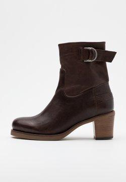 Shabbies Amsterdam - Korte laarzen - dark brown