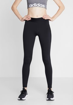 adidas Performance - LONG - Tights - black/white