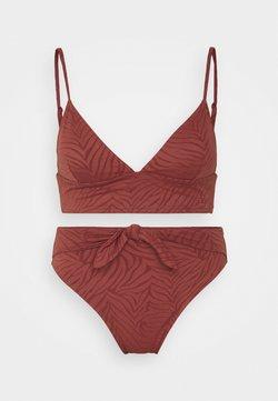 Roxy - WILDBABE SET - Bikini - marsala