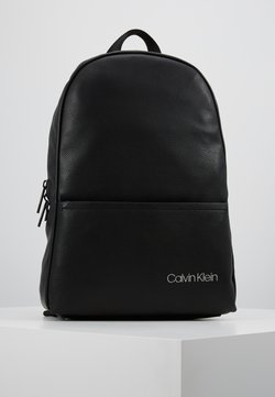 Calvin Klein - DIRECT ROUND BACKPACK - Reppu - black
