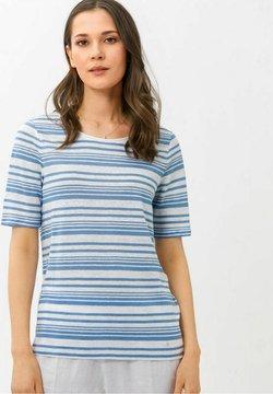 BRAX - STYLE COLLETTA - T-Shirt print - azur