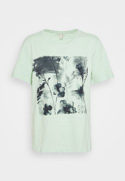 edc by Esprit - T-Shirt print - pastel green
