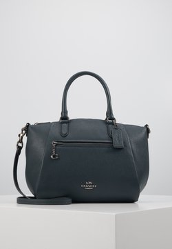 Coach - POLISHED ELISE SATCHEL - Torebka - pine green