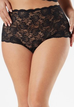Intimissimi - PANTY AUS SPITZE - Panties - black