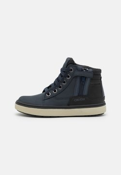 Geox - MATTIAS BOY ABX - Höga sneakers - navy/black