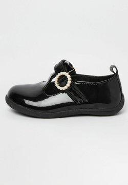 River Island - EMBELLISHED - Ballerinat nilkkaremmillä - black