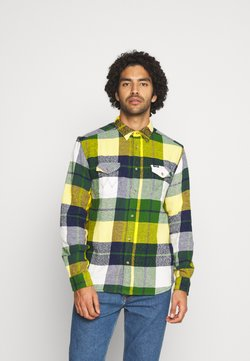 Wrangler - FLAP - Camicia - artichoke green