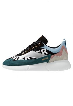 Mercer Amsterdam - W3RD PRINTED - Sneaker low - silver/multicolor