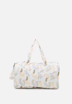 STUDIO ID - LEISURE BAG PRINT UNISEX - Urheilukassi - off-white