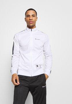 Champion - LEGACY TAPE TRACKSUIT SET - Survêtement - white/black