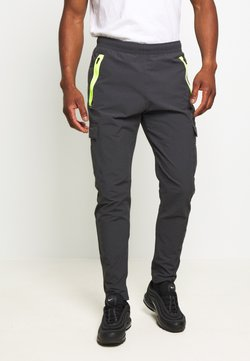 Nike Sportswear - FESTIVAL - Jogginghose - smoke grey/volt