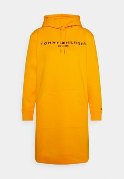 Tommy Hilfiger - REGULAR HOODIE DRESS - Freizeitkleid - solstice