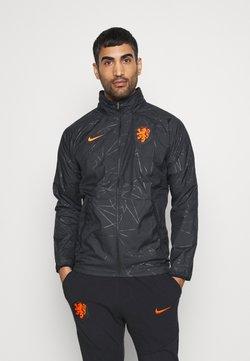 Nike Performance - NIEDERLANDE KNVB  - Veste de survêtement - black/safety orange