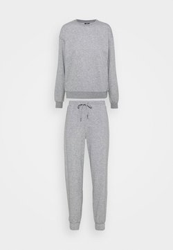 Vero Moda Petite - VMNATALIA SET - Sweatshirt - light grey melange