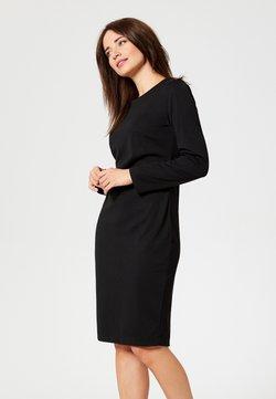 usha - Vestido de punto - black