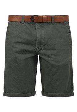Solid - CHINOSHORTS MONTIJO - Shorts - dark grey