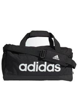 adidas Performance - ESSENTIALS LOGO DUFFEL BAG EXTRA SMALL - Sporttasche - black