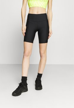 Under Armour - SHINE BIKESHORT - Tights - black