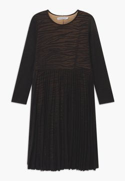 Calvin Klein Jeans - URBAN ANIMAL - Sukienka koktajlowa - black