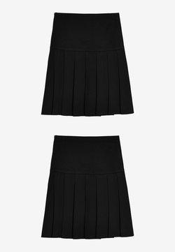 Next - 2 PACK - Spódnica trapezowa - black