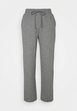 Lounge Nine - WILMA PANTS - Jogginghose - dark grey melange