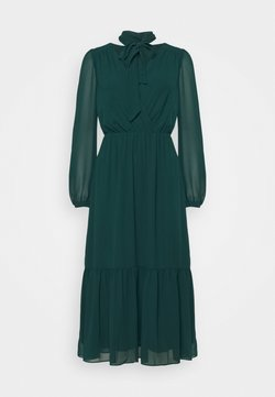 Forever New - TIE NECK MIDI DRESS - Korte jurk - emerald green