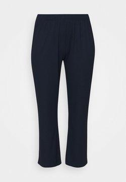 Zizzi - EINGVILD PANT - Jogginghose - navy blazer
