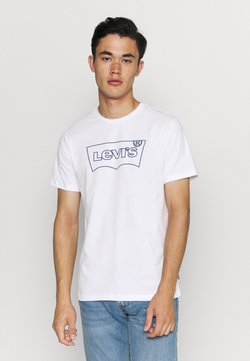 Levi's® - HOUSEMARK GRAPHIC TEE - T-shirt imprimé - outline white