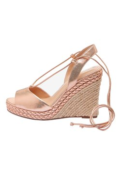 Next - High Heel Sandalette - gold