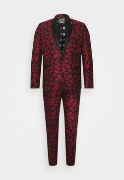 Twisted Tailor - FOSSA SUIT SET - Costume - black/red
