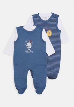 Jacky Baby - STRAMPLER SET 2 PACK - Pigiama - blue