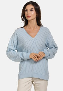 faina - Jumper - light blue