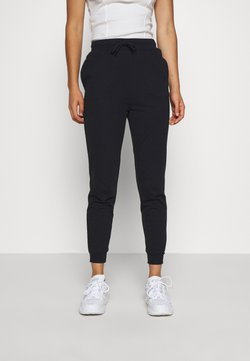 Even&Odd - SLIM FIT SWEAT JOGGERS  - Jogginghose - black