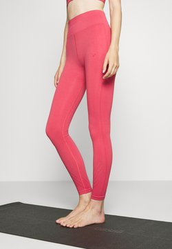 ONLY Play - ONPJAVO CIRCULAR TIGHTS - Leggings - holly berry