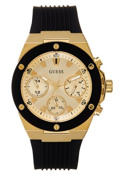 Guess - LADIES SPORT - Klocka - black/gold-coloured