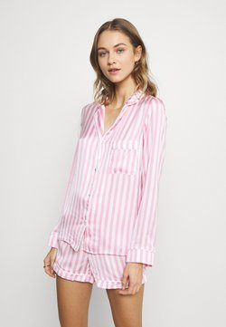 Missguided - STRIPE SET - Pyjama - pink