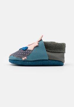 POLOLO - SCHWEINCHEN UNISEX - Chaussons pour bébé - blau