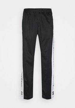 Champion - STRAIGHT HEM PANTS - Pantaloni sportivi - black